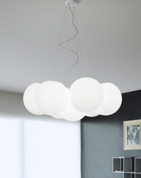 7 sfere pendant linea light
