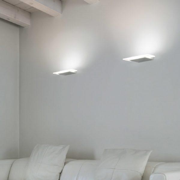 applique dublight led linea light
