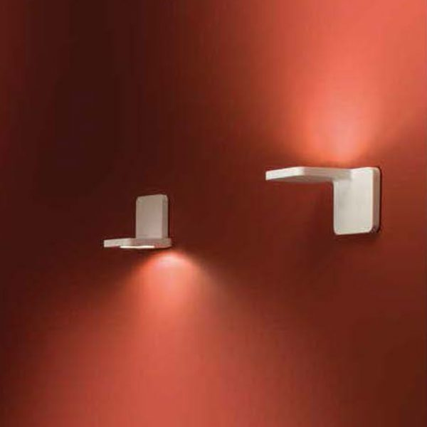 quad applique linea light ma e de bianco
