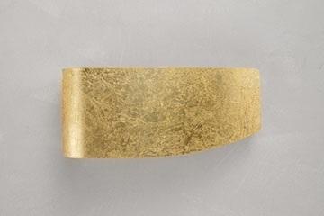 virgola foglia oro applique fr.braga