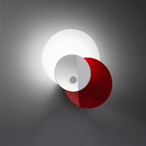 hula hoop applique rossa particolare