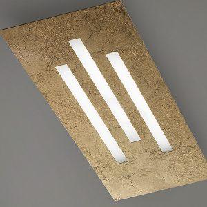 Plafoniera Gamma LED Foglia Oro