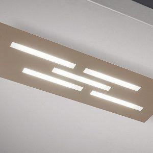 Plafoniera Gamma LED Tortora