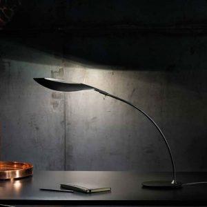 lampada da tavolo folia nera