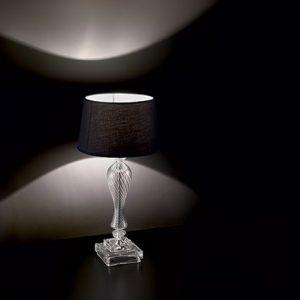 lampada da tavolo voga nera