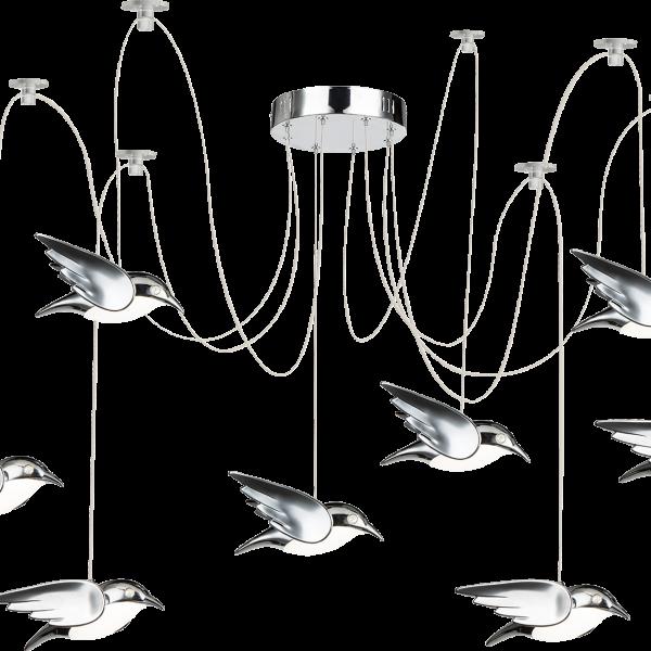 bird 8 luci globo