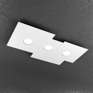 plafone 3 luci plate top light