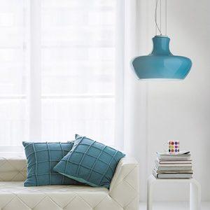 Modern sofa in a living room